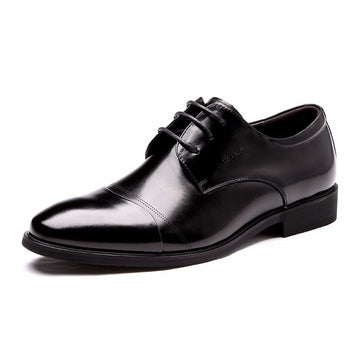 Leather 2017 Fashion Men's Oxford Shoes