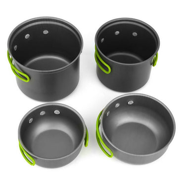 Outdoor Camping Hiking Cooking Set Cookware