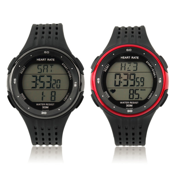 Chest Strap Heart Rate Monitor Watch + Chest Belt Set