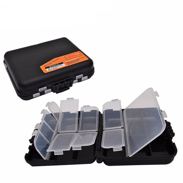 Double Layer Hard Plastic Fishing Tackle Storage Box