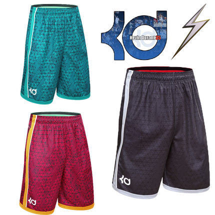 Outdoor athletic KD gym shorts
