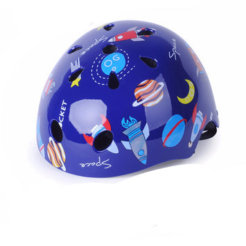 Adjustable Bike Bicycle Skate ProtectionHelmet