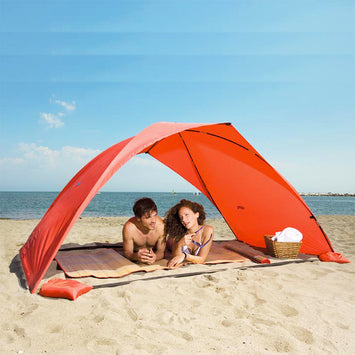 silver Ultralight  Summer camping fishing Tent
