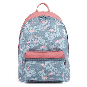 Backpack Stitching Floral Casual Daily Travel Bag