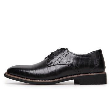 Men Oxfords, Lace-Up Business Men Shoes