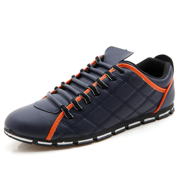 Brand Shoes Men Soft Breathable Soft Leather