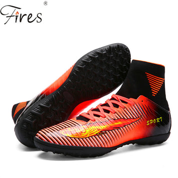 Kids Sport Soccer Cleats Football Sock Boots