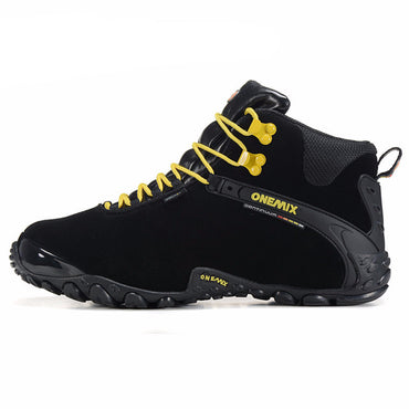 Leather Hiking Shoes Trekking Boots