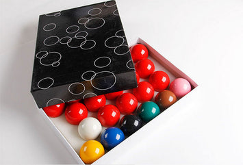 Complete Set of Balls 2 1/16 inch snooker balls Billiards
