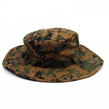 Hiking Fishing Wide Brim Camouflage