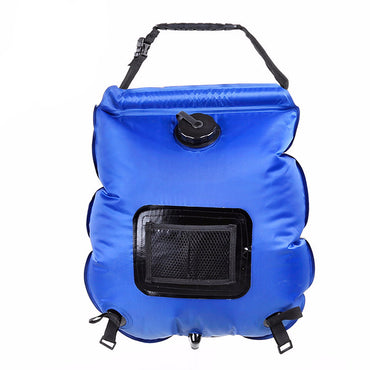 Camping Hiking Travel Portable PVC Shower Bag