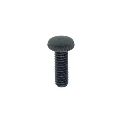 "SATCO products 90/025 1/2""KNURLED 8/32 SC BLK FIN"