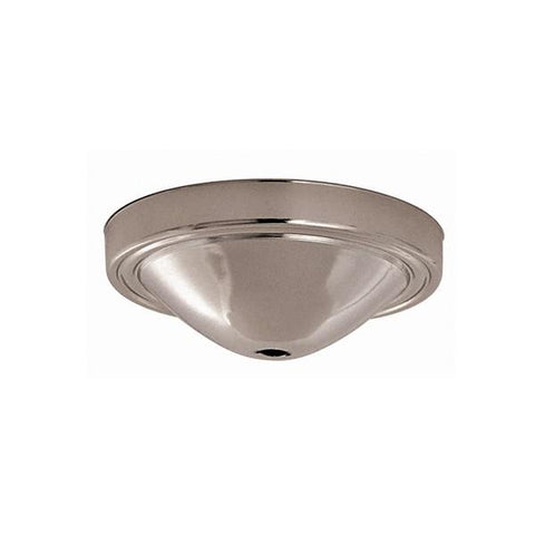 "SATCO products 90/061 VAC CHROME FIN 5"" CANOPY/BASE"
