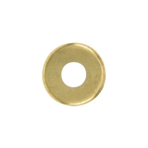 "SATCO products 90/1092 1 1/2"" SOLID BR. CHECKRING B/L"