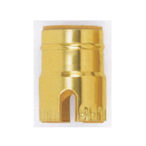 SATCO products 90/1144 BRITE GILT SHELL ONLY/PUSH THR