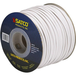 SATCO products 93/130 18/2/SPT/1 250'SPOOL WHITE