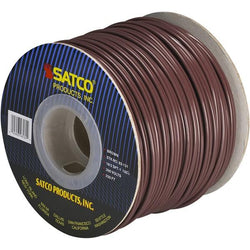 SATCO products 93/131 18/2/SPT/1 250' SPOOL BROWN