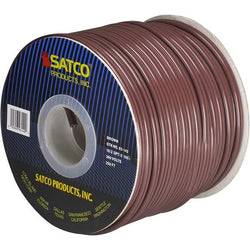 SATCO products 93/142 16/2 SPT2 250' SPOOL BROWN