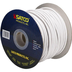 SATCO products 93/144 18/3/SVT WHT PULLY CORD 250'