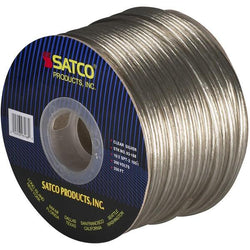 SATCO products 93/168 SPOOLWIRE 18/2 SPT2 CLEAR/SILV