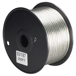 SATCO products 93/187 20/2 SILVER WIRE 250 FT.