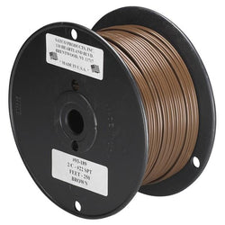 SATCO products 93/189 22/2 PLT BROWN WIRE ON 250 FT