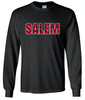 SALEM Long Sleeve Buffalo Plaid Shirt (BLACK)