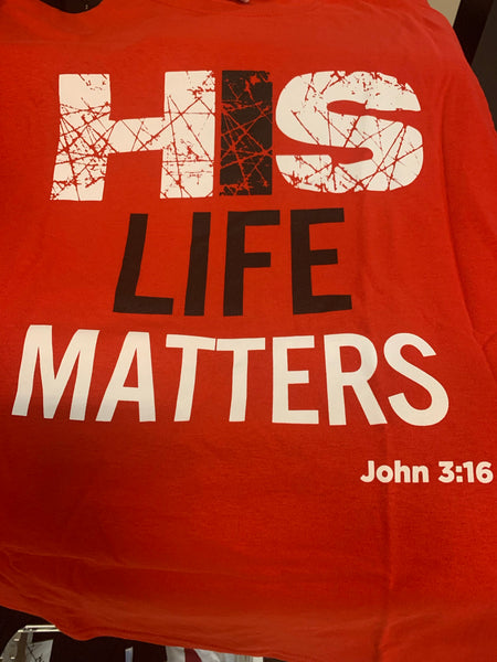 His Life Matters RED