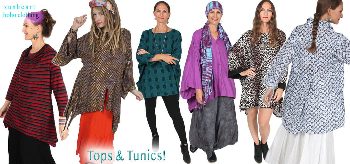 Sunheart Tops Tunics Shirts