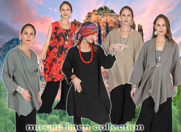 MOSAIC LINEN CLOTHING COLLECTION