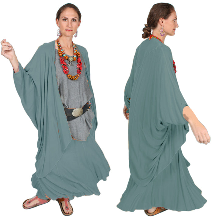 $24 OFF Tienda ho Palms Batwing Coat Moroccan Cotton Sml-8x