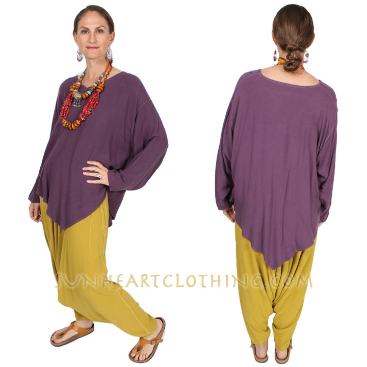 Tienda ho l/slv Monsoon Top Moroccan Cotton Boho Hippie Chic Sml-2x