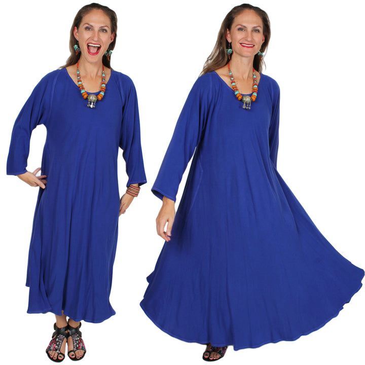 Dairi Fashions Juno Dress Moroccan Cotton Bias Cut Sml-6X