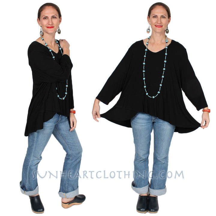 HeartString Ceres Top Sophisticated Casual Resort Wear Boho 5X