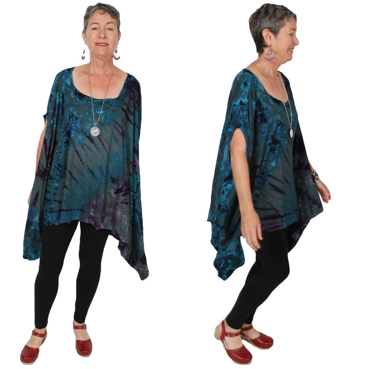 Sunheart Freedom Layering Tunic Jacket Boho Hippie Chic Resort Wear Sml-10X