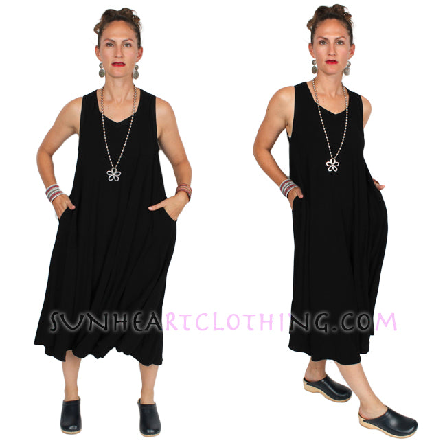 Tienda ho Zohara Tank  Dress Moroccan Cotton Sml-2x