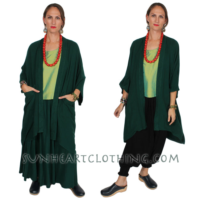 Tienda ho Indira Coat Moroccan Cotton Plus Sml-6x