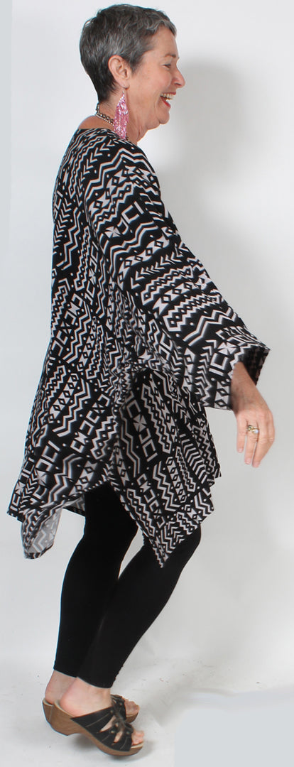 Dairi Fashions Plus Damascus Top Tribal Moroccan Cotton Boho Sml-8x