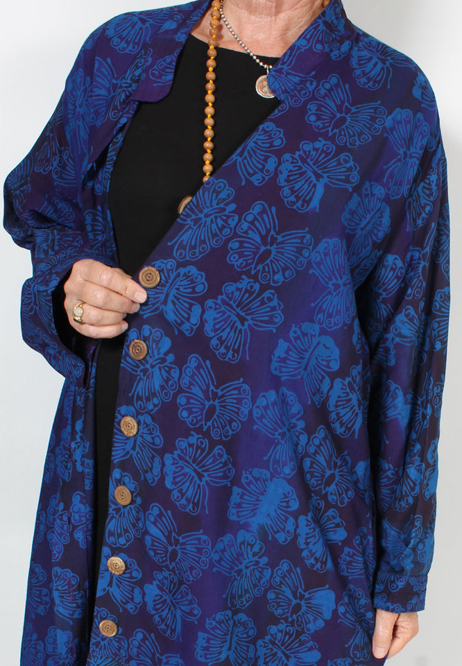 Tienda ho Lobana Jacket Moroccan Cotton Resort Wear Sml-2x+