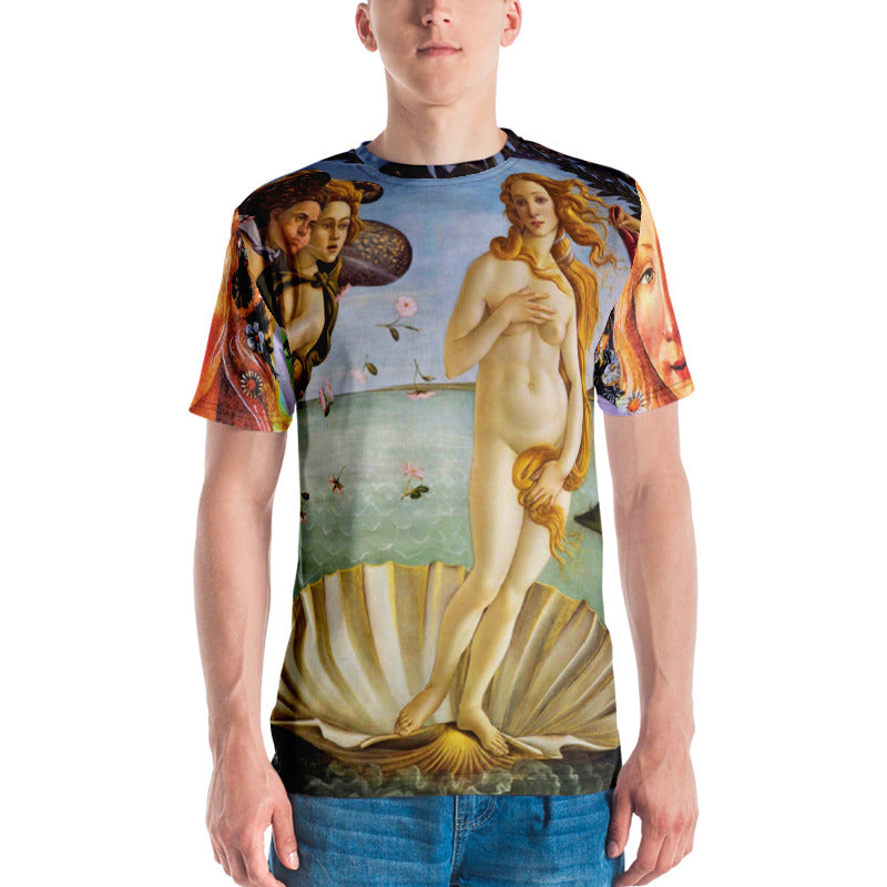 Sunheart Birth of Venus Goddess Ceremony Shaman Unisex Festival Women's Men's Tee Shirt Small to 2X