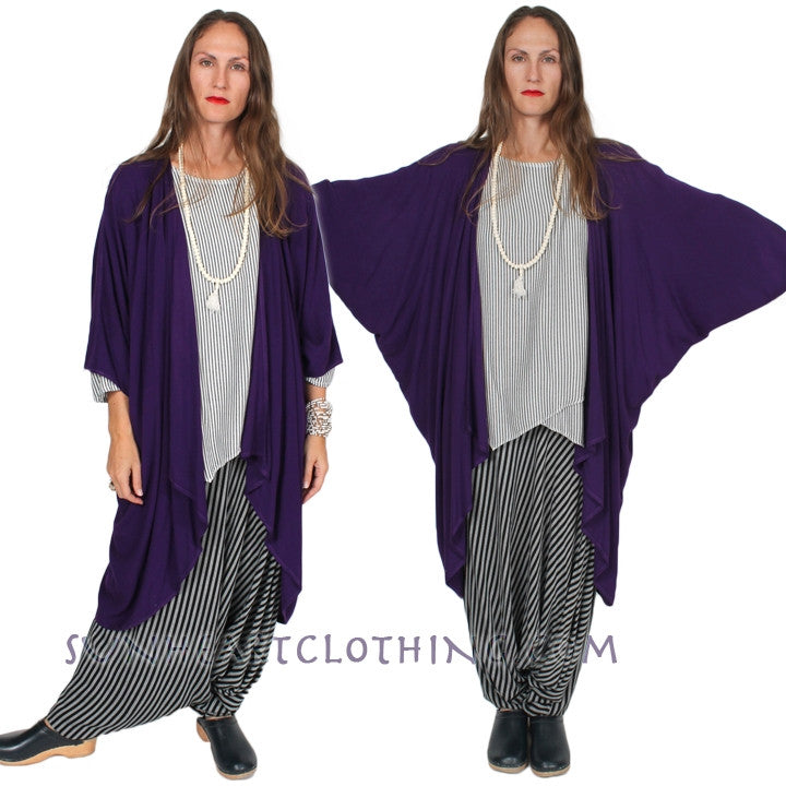 Dairi Bodacia Coat Moroccan Cotton Plus Boho Resort Wear Sml-8X