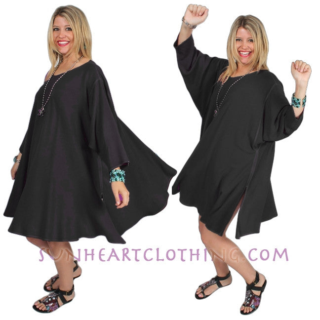 Dairi Fashions Chenela Top or Dress Plus Over-Size Boho Sml-8x