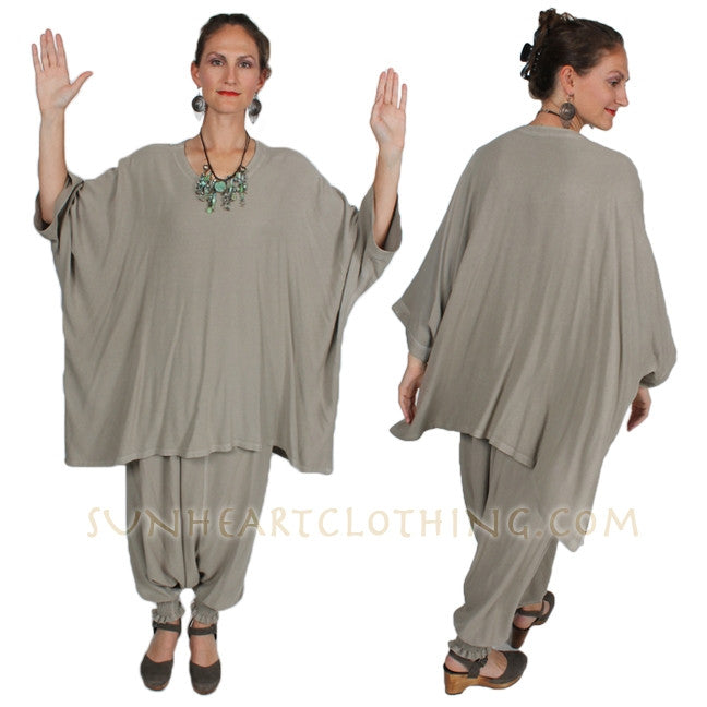 Damascus plus-size Tunic Top Moroccan Cotton Sml-7X Custom Dye $125