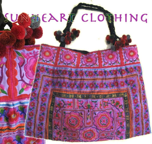 Ethnic Embroideried Hand-Bags