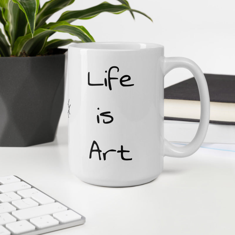 Art is Life Mug, Gifts for Her, More Art Inspirational Mugs and Gifts, Artist Mug Coffee Tea I am an Artist Mug