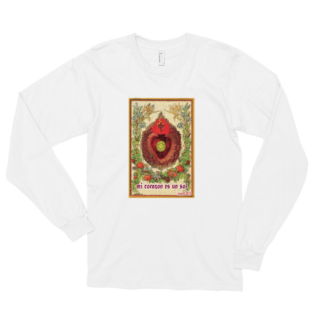 Sunheart New Designs Folk Art Tee Shirt Small to Plus Sizes Cotton