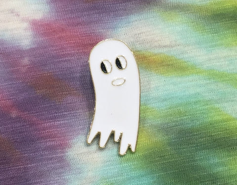 WHITE GHOST PIN