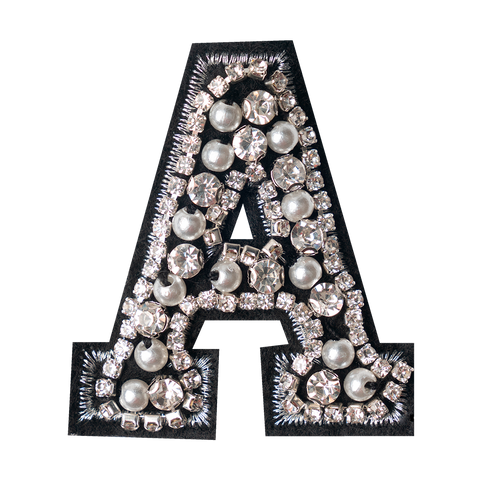 CRYSTAL LETTER A
