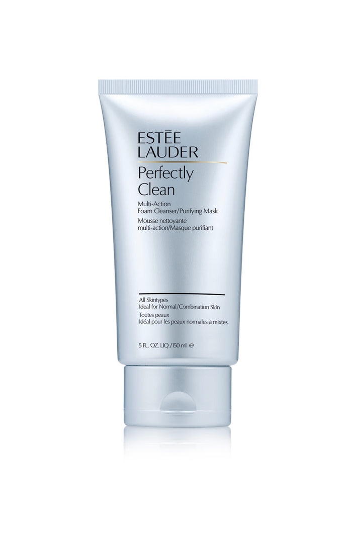 Estée Lauder Perfectly Clean Foam Cleanser/Purifying Mask 150 ml - Koch Parfymeri og hudpleieklinikk