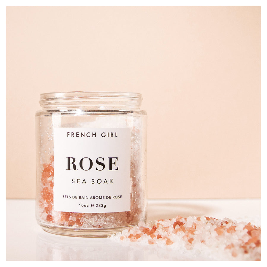French Girl Rose Sea Soak 283 gr - Koch Parfymeri